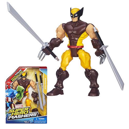 Wolverine Marvel Super Hero Mashers Action Figure