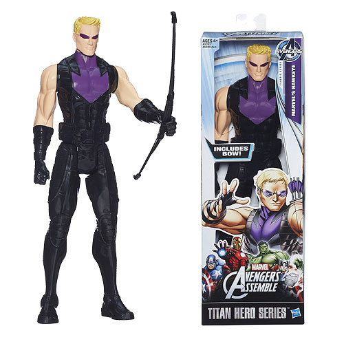 Avengers Assemble Hawkeye 12-Inch Titan Heroes Action Figure