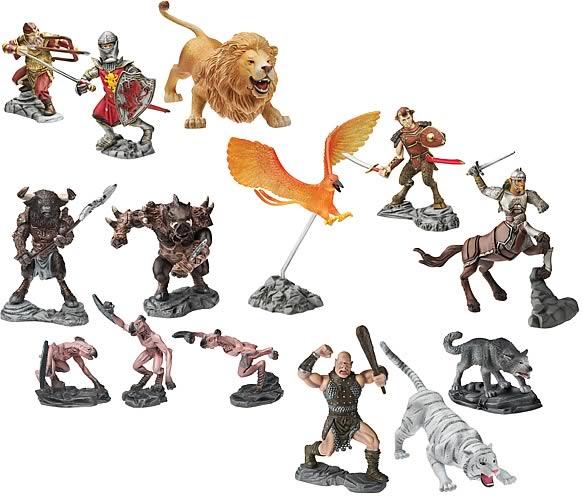 Chronicles Of Narnia Basic Battle Figures Wave 1 Set