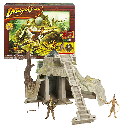 Indiana Jones Lost Temple of Akator Playset