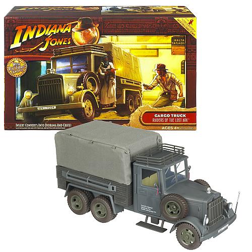 Indiana Jones Raiders Fabric Canopy Cargo Truck Vehicle  sc 1 st  Entertainment Earth & Indiana Jones Raiders Fabric Canopy Cargo Truck Vehicle - Hasbro ...