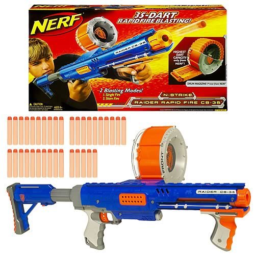 Nerf N-Strike Raider Rapid Fire CS-35 Blaster