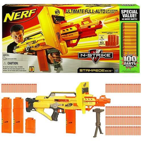 Nerf N Strike Stampede Ecs 50 Value Pack Hasbro Nerf