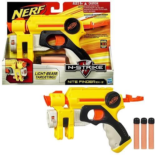 Nerf N-Strike Nite Finder EX-3 Dart Gun Blaster
