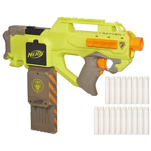 Nerf N-Strike Rayven CS-18 Semi-Automatic Dart Blaster