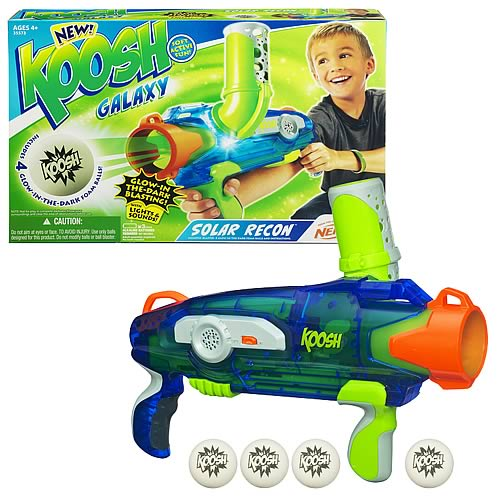 Koosh Galaxy Solar Recon Glow-In-The-Dark Ball Launcher