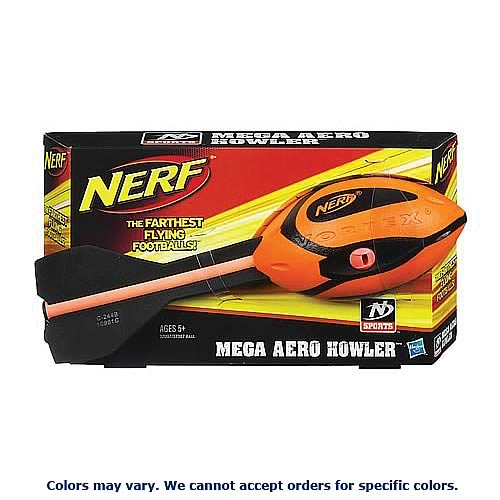 Nerf Sports Mega Aero Howler Football