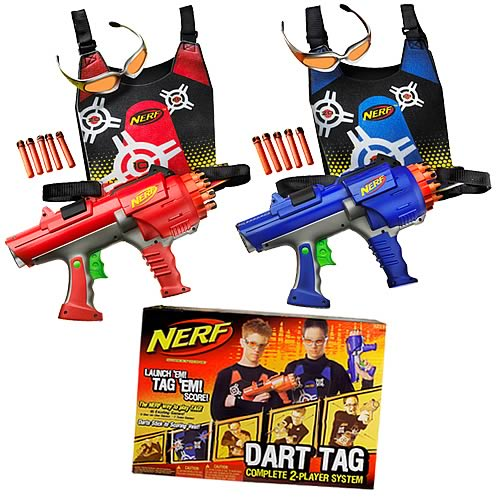 Nerf Dart Tag Deluxe 2-Player Set