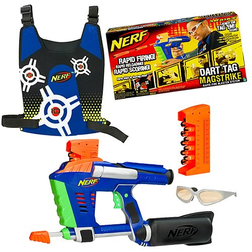 Nerf Dart Tag Mag Strike Set