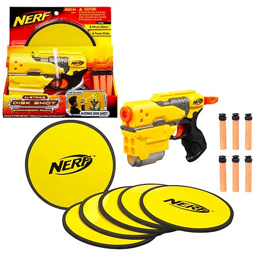 Nerf N-Strike Disk Shot Expansion Pack