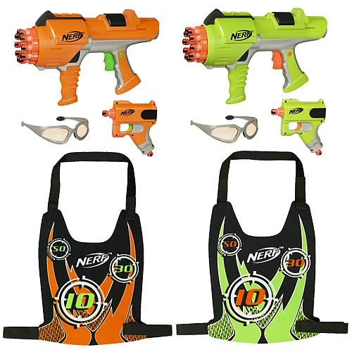 NERF Dart Tag Hyperfire Deluxe 2-Player Set