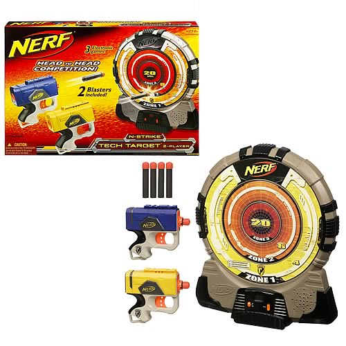 nerf tech target instructions