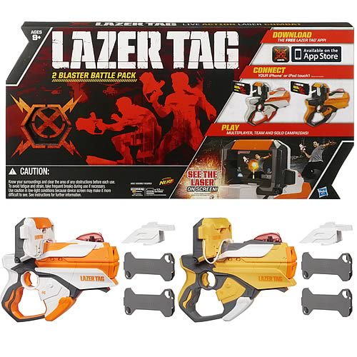 Lazer Tag Twin Blaster Pack