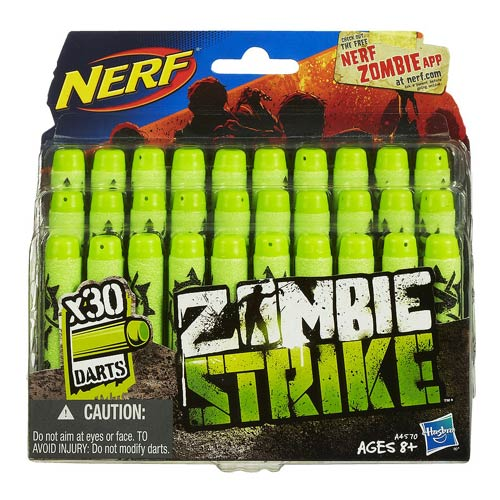 Nerf Zombie Strike Deco Darts 30-Pack