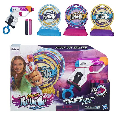 Nerf Rebelle Knock Out Gallery Dart Blaster