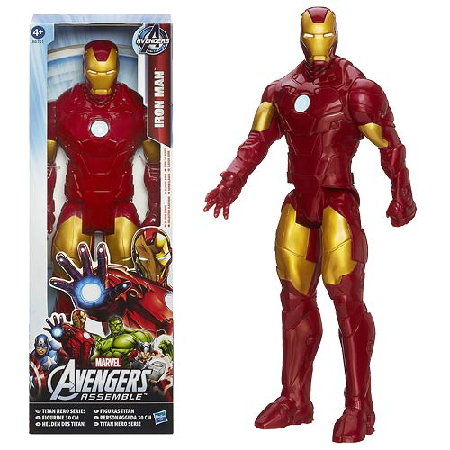 Avengers Assemble Titan Hero Iron Man 12-Inch Action Figure