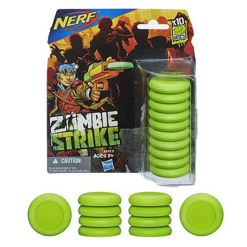 Nerf Zombie Strike 10-Disc Refill Set