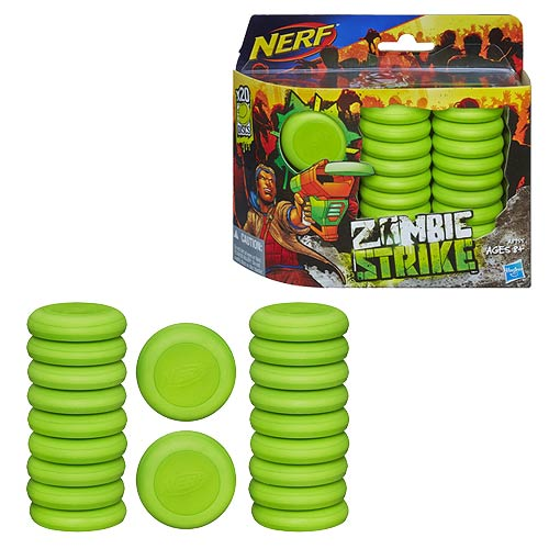 Nerf Zombie Strike 20-Disc Refill Set