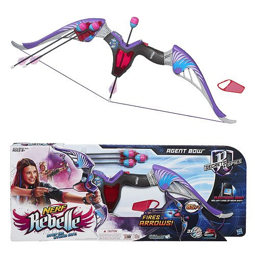 Nerf Rebelle Secrets and Spies Agent Bow