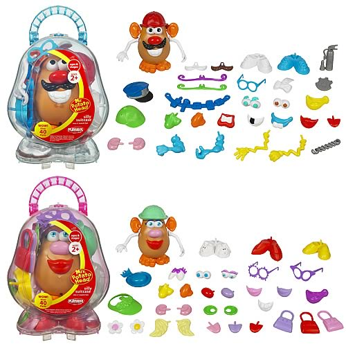 Mr and Mrs. Potato Head Silly Suitcase Assortment