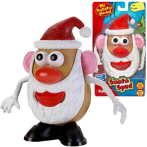 Santa Spud Mr. Potato Head