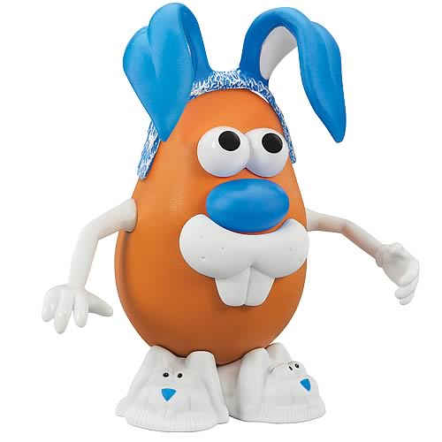 Mr. Potato Head Blue Bunny Boy