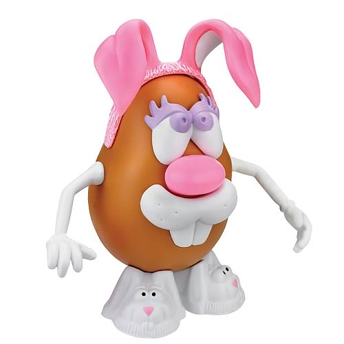 Mrs. Potato Head Pink Bunny Girl