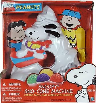 11-Inch Snoopy Sno-Cone Machine