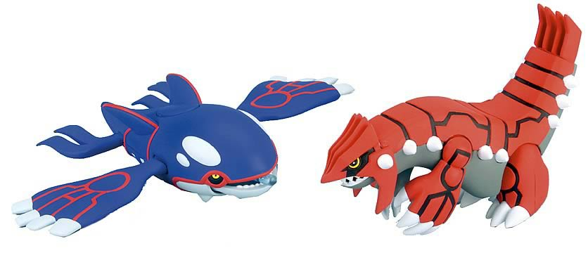 Groundon and Kyogre Asst. 1