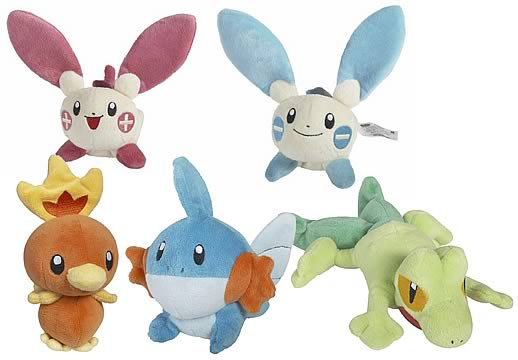 Pokemon Mini-Plush Assortment 1