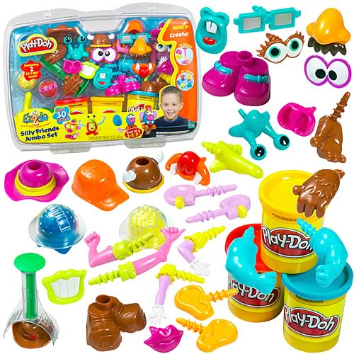 Play-Doh EZ-2-Do Silly Friends Jumbo Set