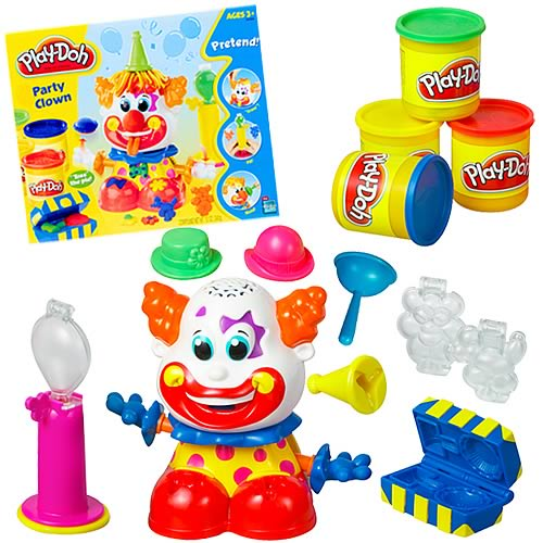 Play-Doh Party Clown