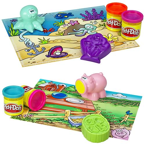 Play-Doh Clean-Up Pals Wave 1 Set