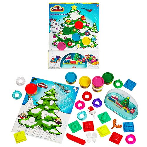 Play-Doh Christmas Advent Calendar Set