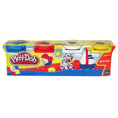 Play-Doh Outdoor Fun Colors 4-Pack