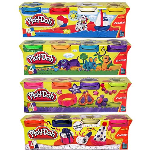 Play-Doh Classic Birthday 4-Pack Set