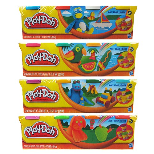 Play-Doh Classic 4-Pack Set