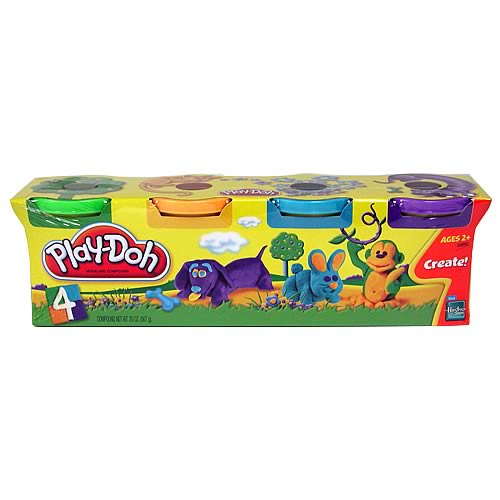 Play-Doh Animal Colors 4-Pack
