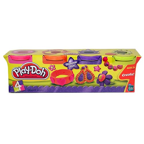 Play-Doh Jewelry Colors 4-Pack