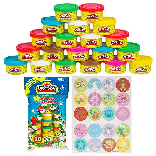 Play-Doh Holiday Treat Bag