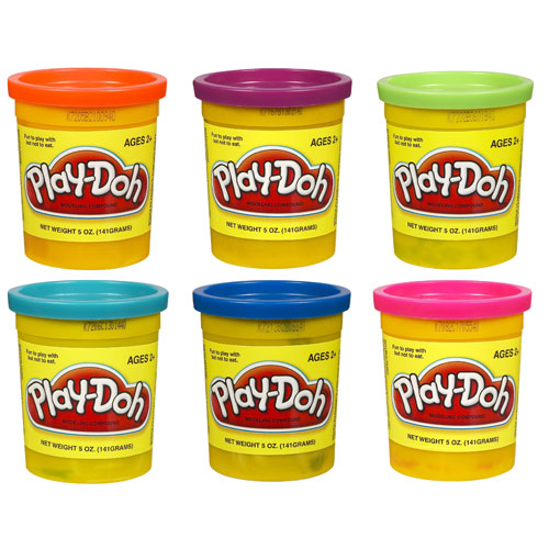Play-Doh Single Can Assortment 1 Wave 3 Set