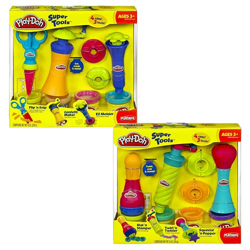Play-Doh Super Tool Boxed Set Wave 2 Set