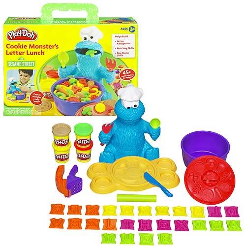 Play-Doh Sesame Street Cookie Monster Letter Lunch - Hasbro - Sesame ...