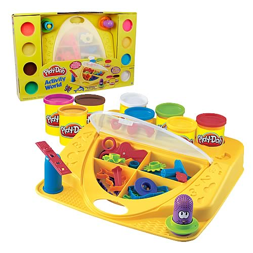 Play-Doh Activity World Playset