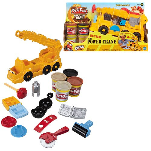 Play-Doh Diggin Rigs Buster the Power Crane
