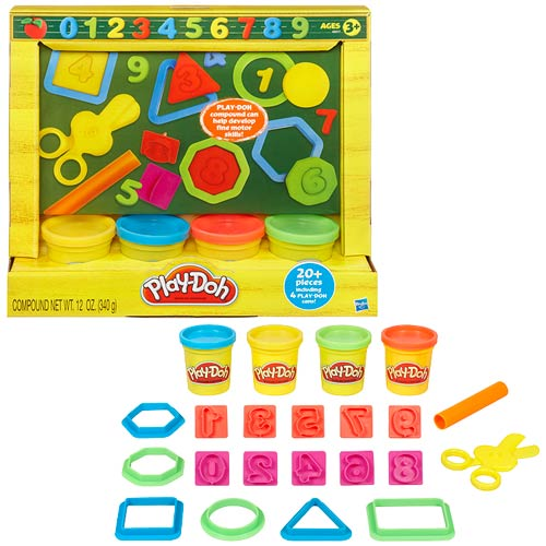 Play-Doh Back To School Chalkboard