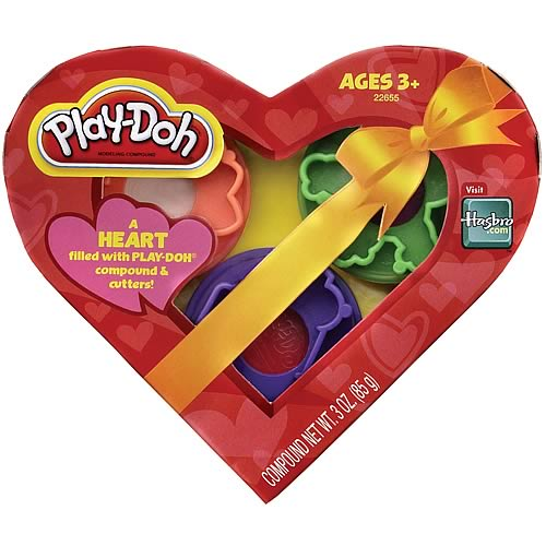 Play-Doh Valentines Heart Box