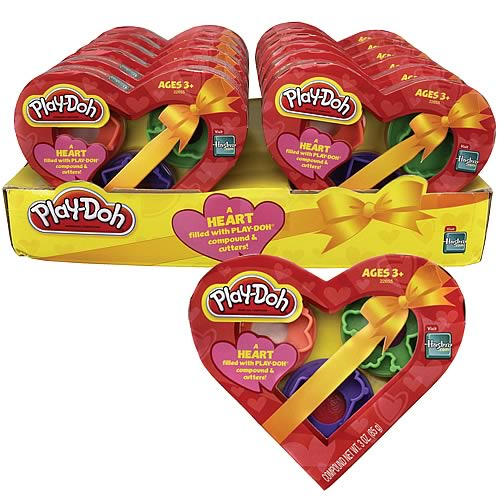 Play-Doh Valentines Heart Box Case