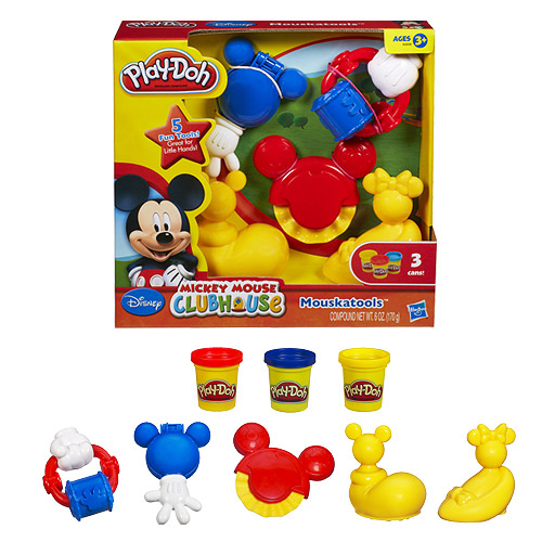Play-Doh Mickey Mouse Club Mouskatools Set