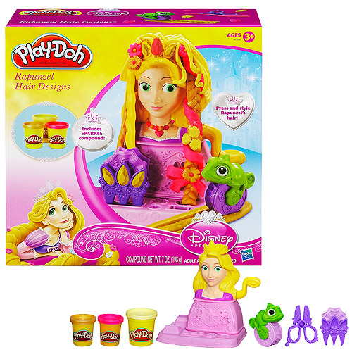 Play-Doh Disney Tangled Rapunzel Hair Designs
